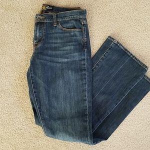 Lucky Brand Sophia Boot jeans med wash sz 8/29
